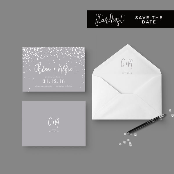 Stardust-Wedding-Save the date