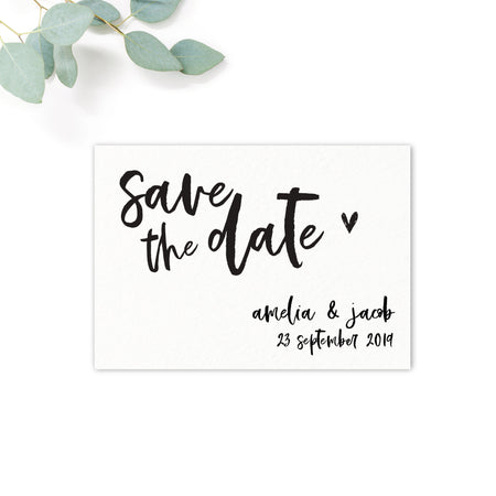 Taylor Personalised Save the Date