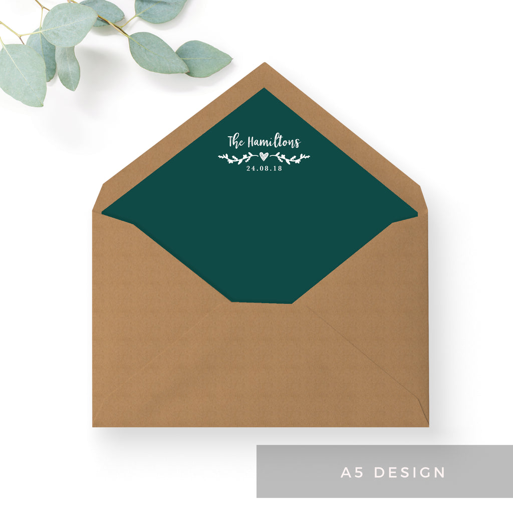 Woodland Envelope Liners – The Stationery Garden