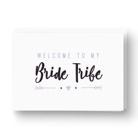 'Bride Tribe' Bridesmaid / Maid of Honour Card