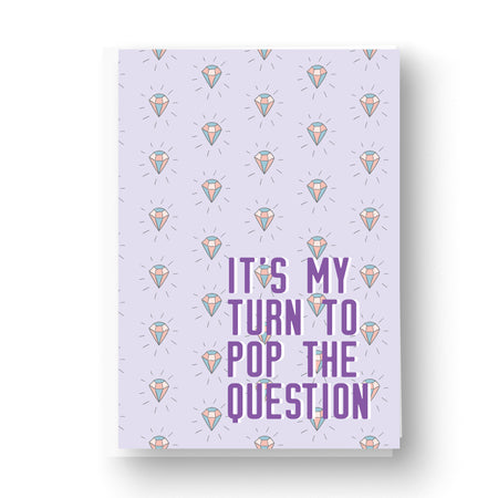 Will You Be My Bridesmaid Card Printed Inside