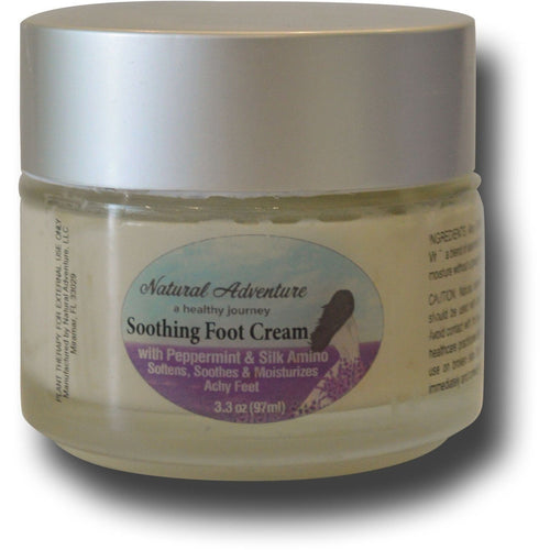 Soothing Peppermint Foot Cream - MyNaturalAdventure.com