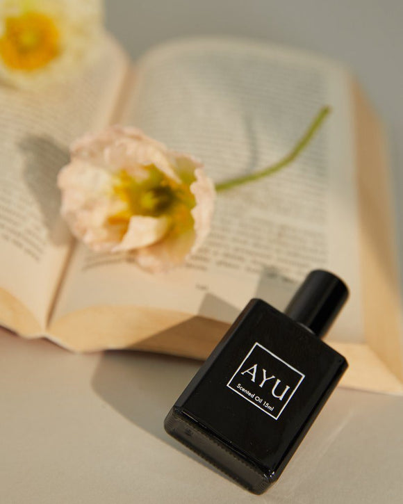 AYU SMOKING ROSE OIL TRAVEL SIZE - Corner Surf Shop
