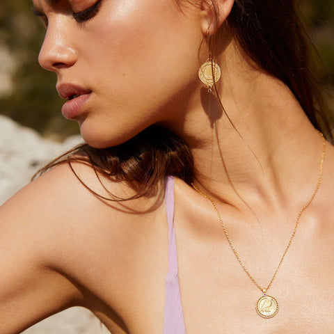TEMPLE OF THE SUN ARIANA EARRINGS - Corner Surf Shop