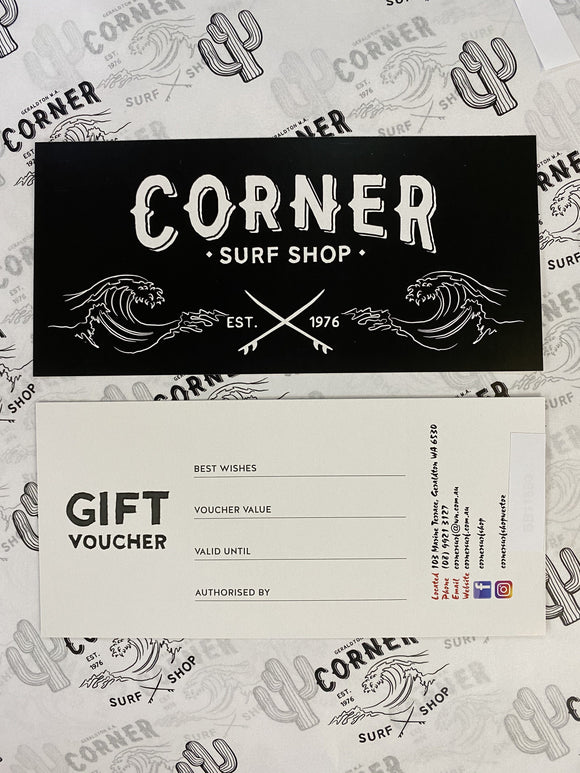 GIFT VOUCHER - Corner Surf Shop