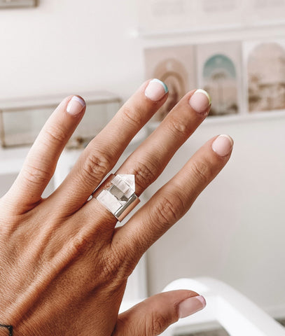 KRYSTLE KNIGHT NATURAL RING