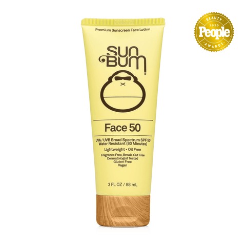 SUN BUM ORIGINAL SPF50 FACE LOTION