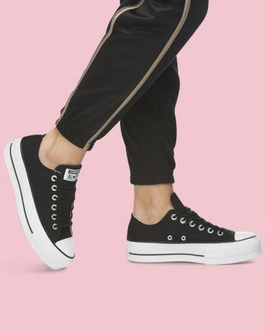 CONVERSE CT LIFT CANVAS LOW BLK