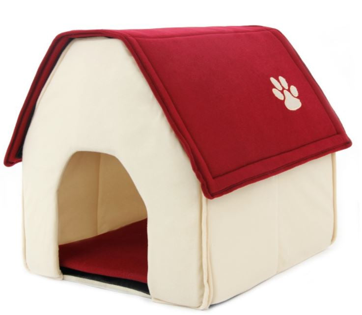 Soft Portable Dog House for Home or Travel