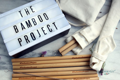 The Bamboo Project Straws