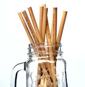 Single Bamboo Straws