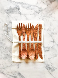 The Coconut Cutlery Set