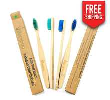 Bamboo Toothbrush (Set Of 4)