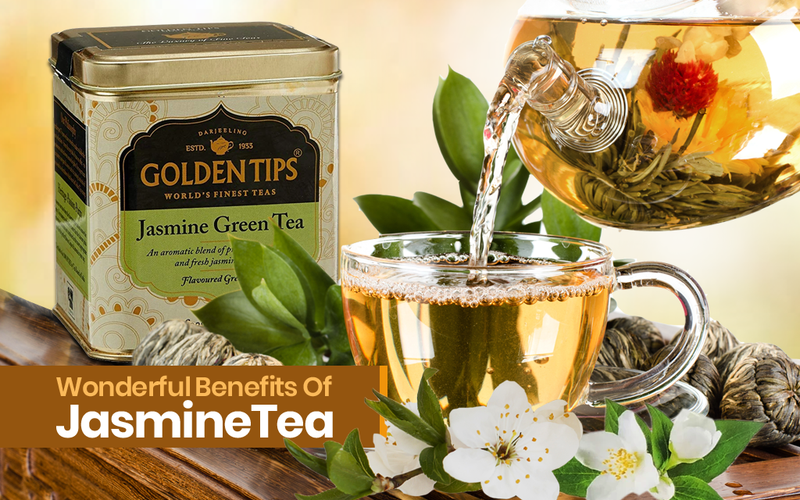 10 Reasons Why Jasmine Tea Is Good for You