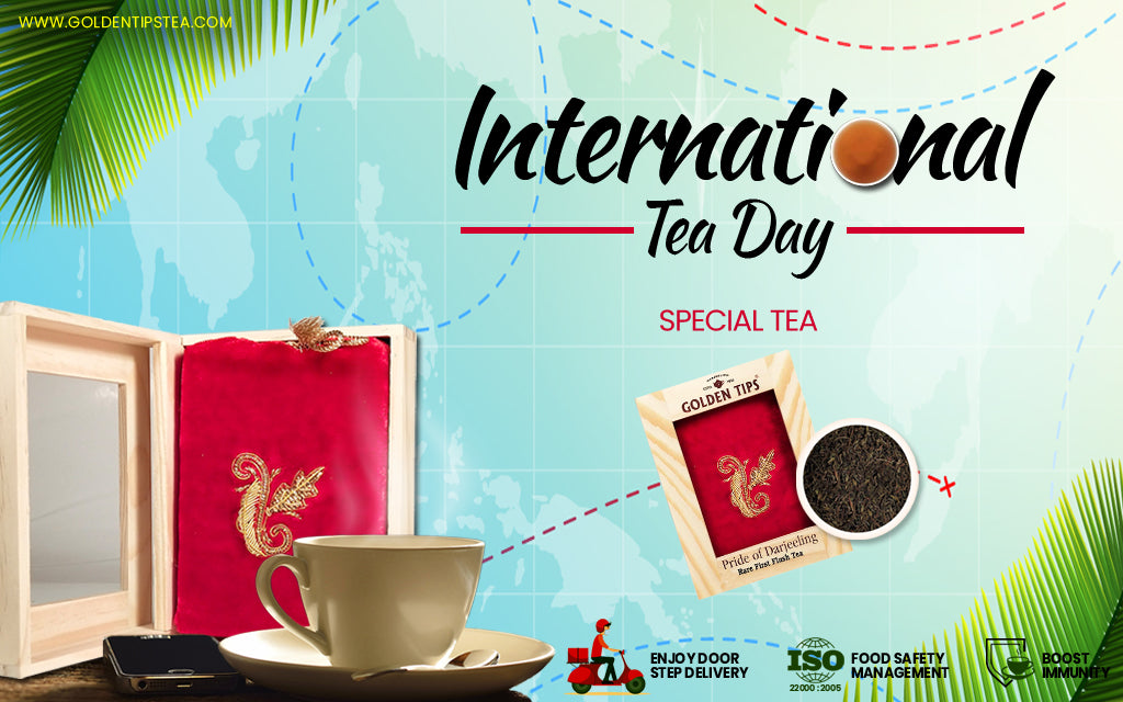 It's International Tea Day: Golden Tips Tea Gives You the Pick of Its Finest Tea