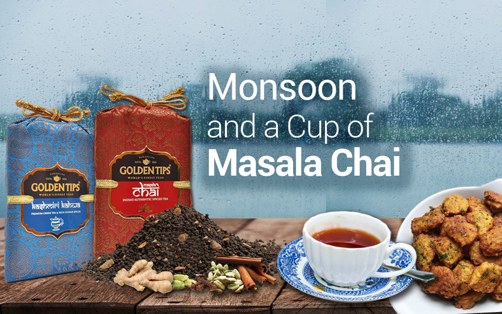 Enjoying the Monsoon Season with Chai Teas