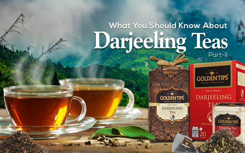 Part 2: All About Darjeeling Teas