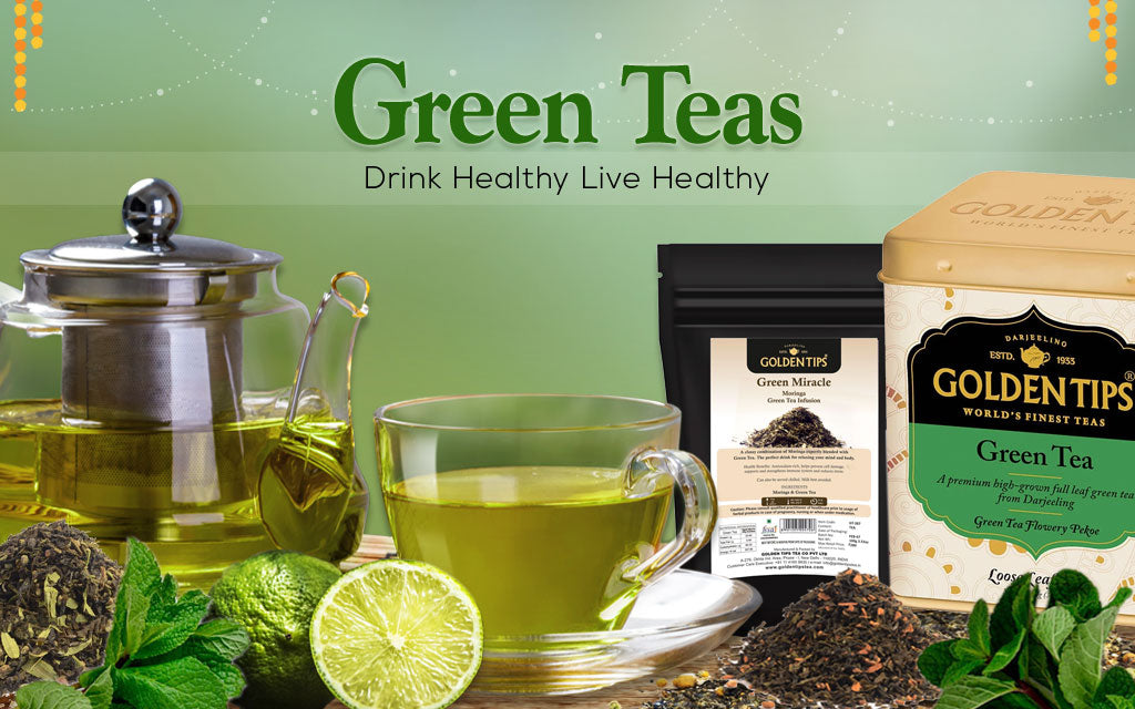 Largest Variety of Healthy Green Tea Online – Take Your Pick!