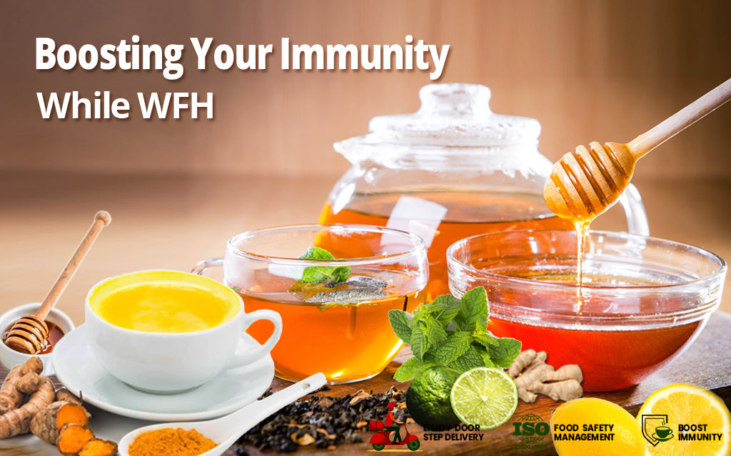 Introducing Golden Tips High Immunity Teas