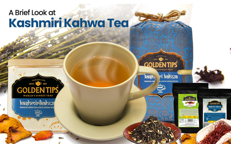 Health Benefits of Kashmiri Kahwa Tea and Its Popularity