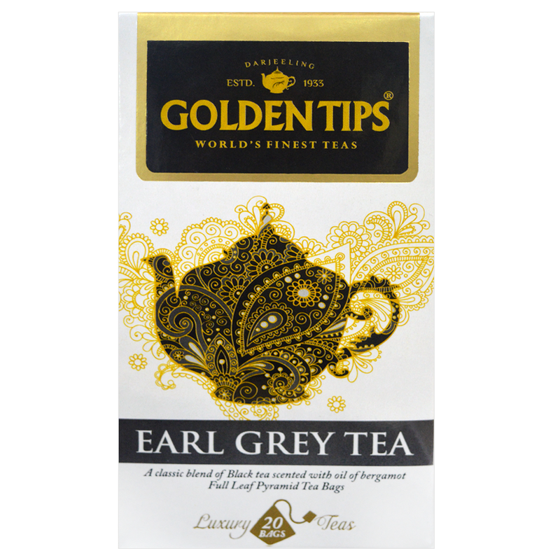 Earl Grey Full Leaf Pyramid - 20 Tea Bags, 40g - Pack of 2