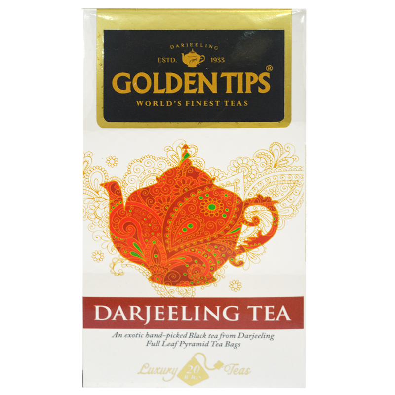 Darjeeling Full Leaf Pyramid - Tea Bags - Golden Tips