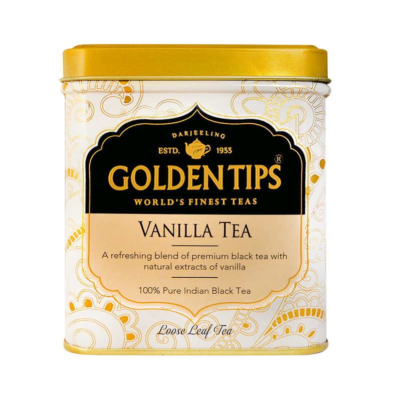 Vanilla Flavoured Black Tea - Tin can (100g)