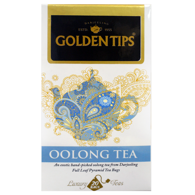 Oolong Tea Full Leaf Pyramid - Tea Bags - Golden Tips