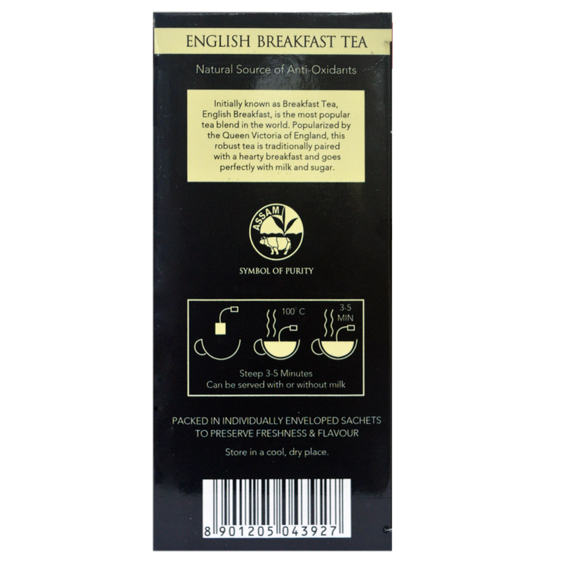 English Breakfast Envelope - Tea Bags - Golden Tips