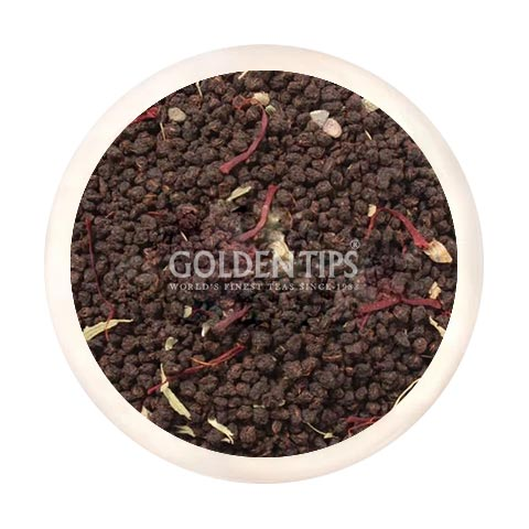 Saffron Cardamom Exotic Chai - Golden Tips
