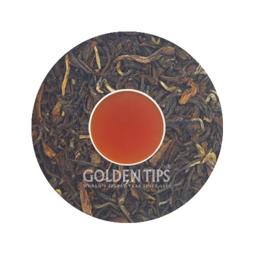 Queen of Hills Premium Darjeeling Tea - Royal Brocade Cloth Bag - Golden Tips