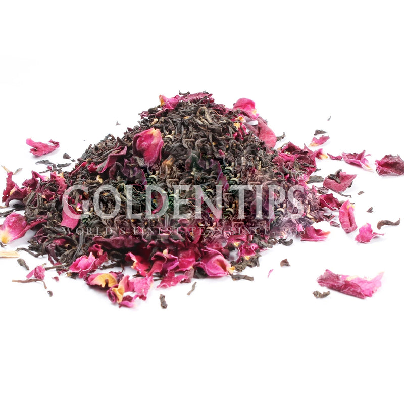 Black Blush Loose Leaf Rose Black Tea
