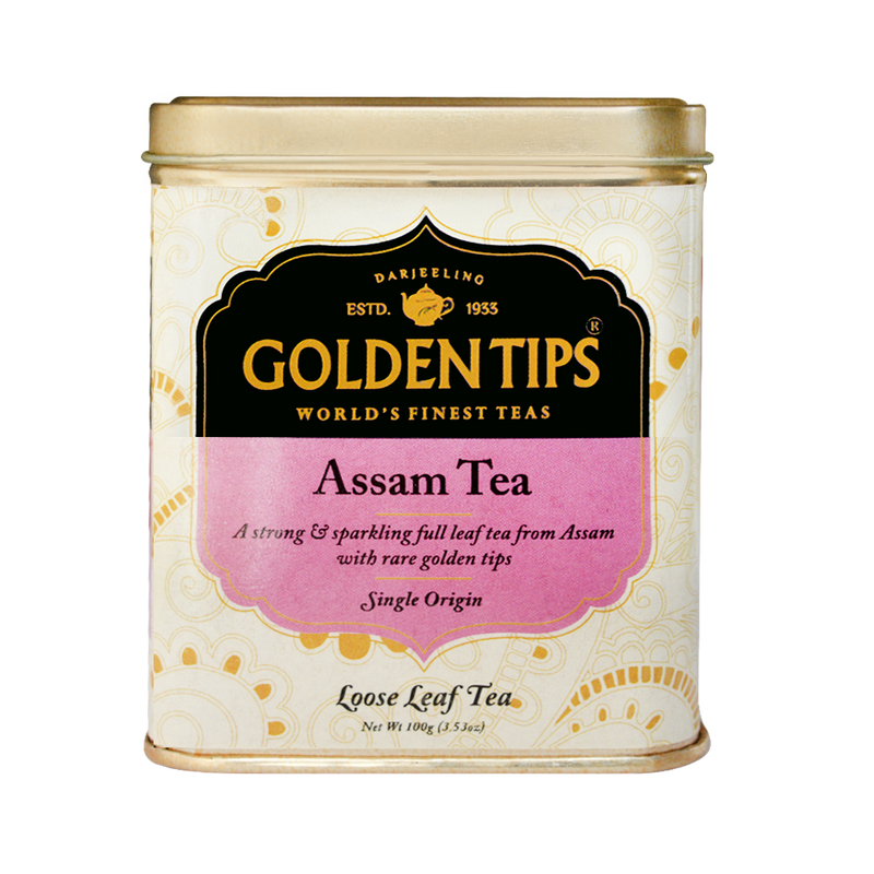 Assam Tea Tin Can - Golden Tips