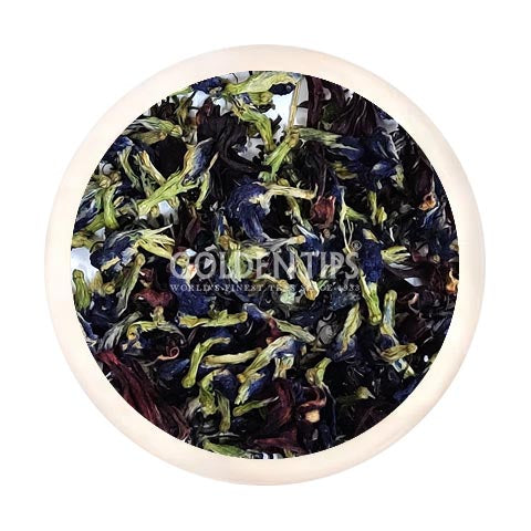 PURPLE TEA - Pea Butterfly - Hibiscus | Amethyst Ardor Green Tea | 50 Cups - 100 Grams | High on Anti Oxidants.