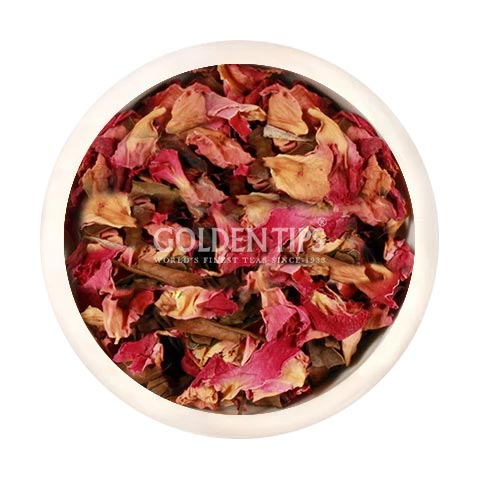 Peony Florence - Rose, Hibiscus & Peony Fannings White Tea - Golden Tips