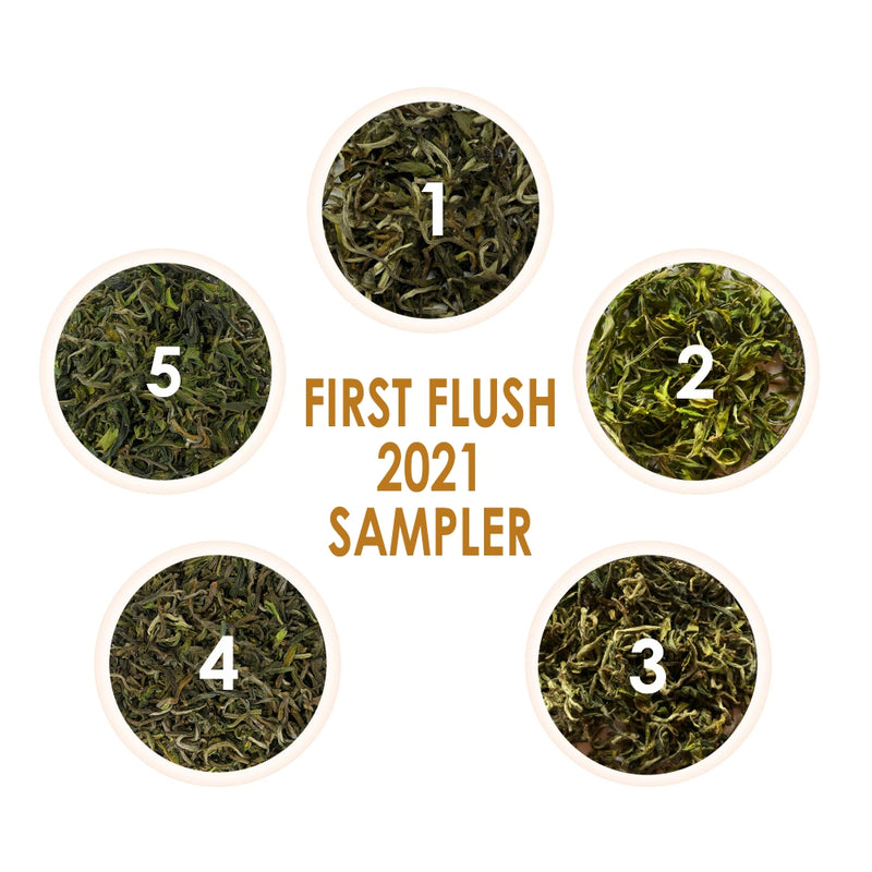 First Flush 2021 Tea Samplers