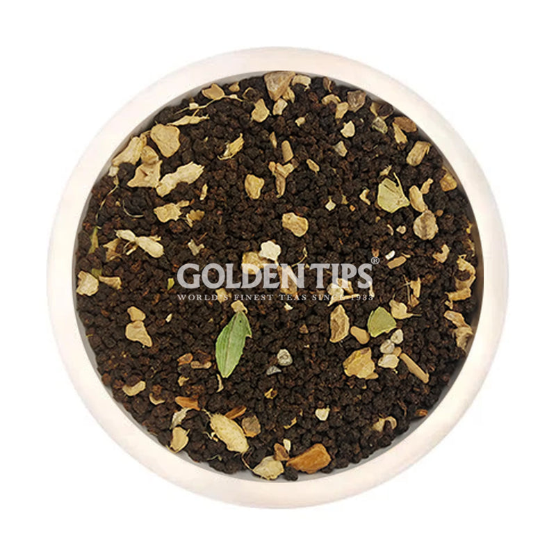 Ginger Mastea - Indian Masala Chai - Golden Tips