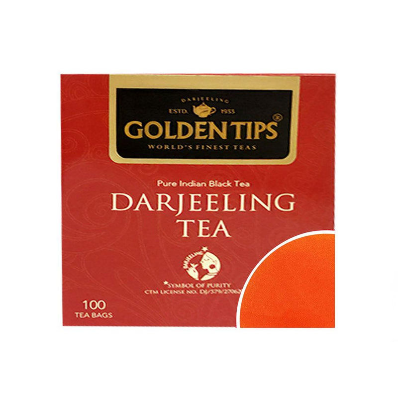 Darjeeling Tea - Filter Paper Tea Bags - Golden Tips