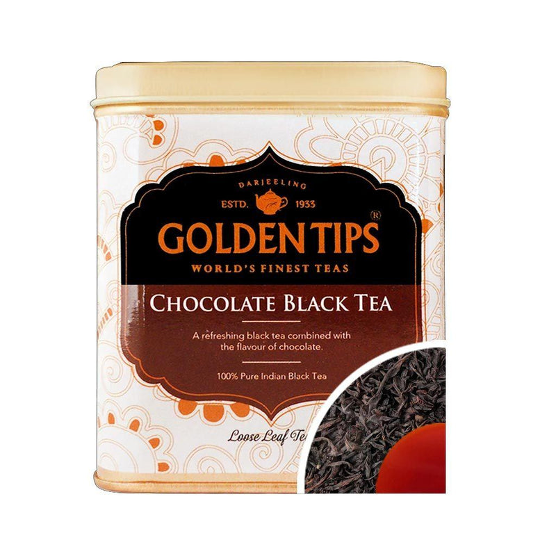 Chocolate Flavoured Black Tea Tin Can (100gm)