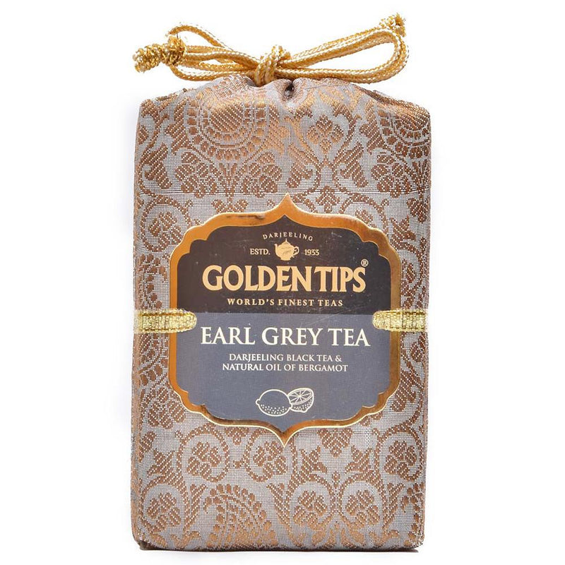 Earl Grey Darjeeling Tea - Royal Brocade Cloth Bag