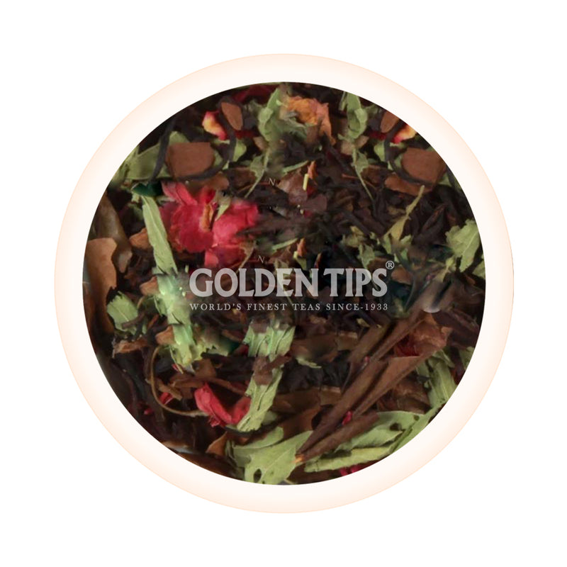 Floral delight -  Rose, Hibiscus & Stevia [100 gm] - Golden Tips