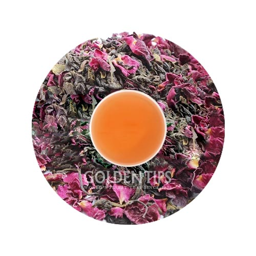 Green Blush Whole Leaf Rose Green Tea