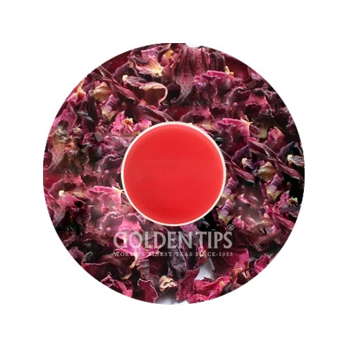 Hibiscus Rose Black Tea (40 Cups), 3.53oz/100gm