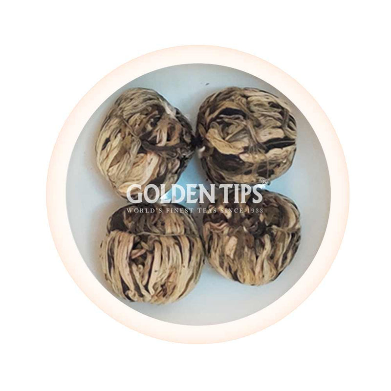 Jasmine Lovers Flowering White Tea - 4 Balls - Golden Tips