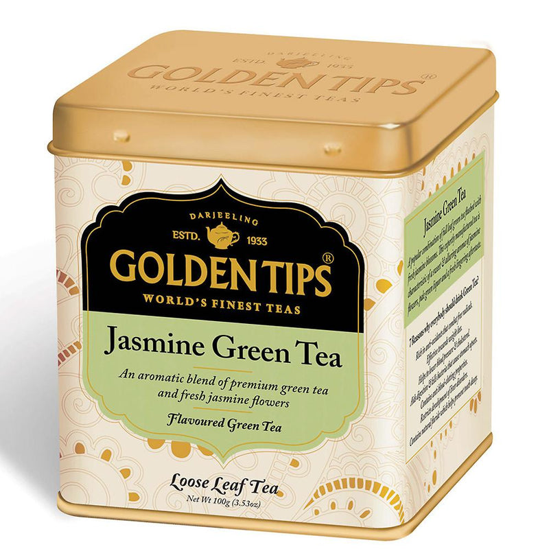 Jasmine Green Tea - Tin Can - Golden Tips