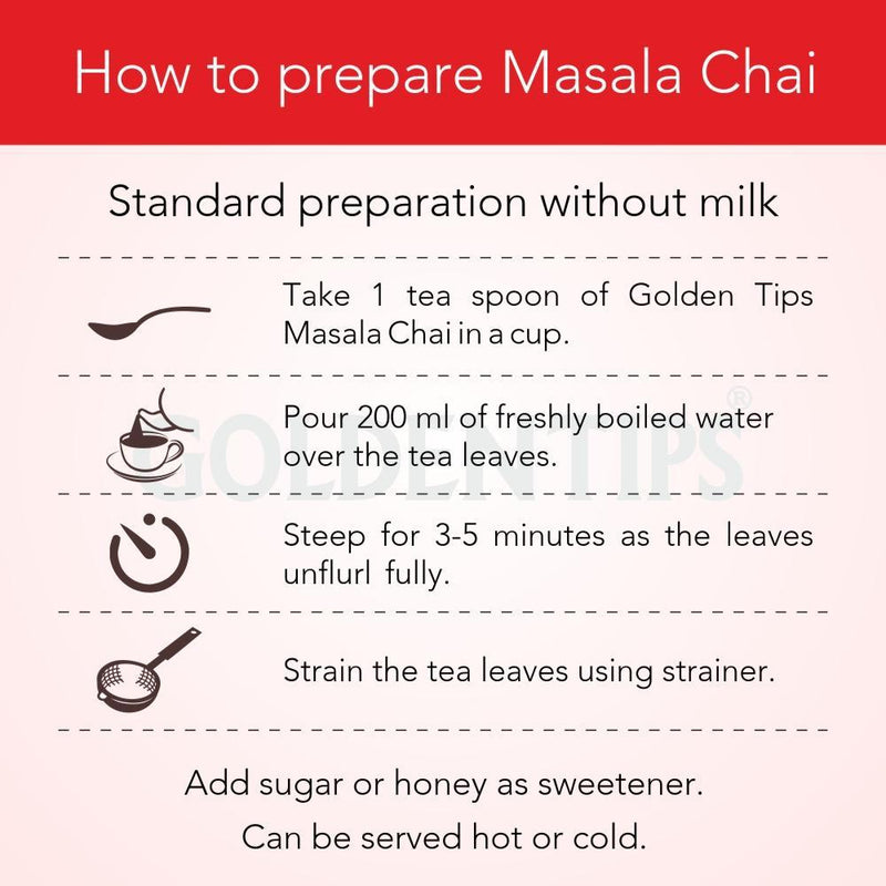 Masala Chai - India's Authentic Spiced Tea