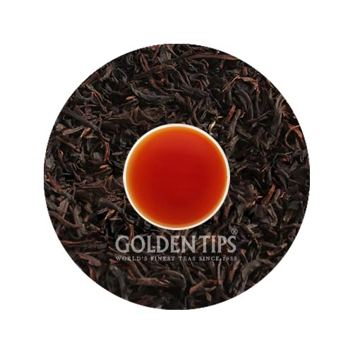 Peach Flavoured Black Tea - Tin can - Golden Tips