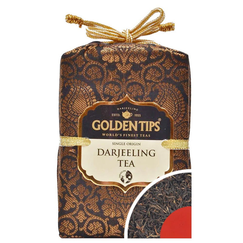 Pure Darjeeling Tea - Royal Brocade Cloth Bag