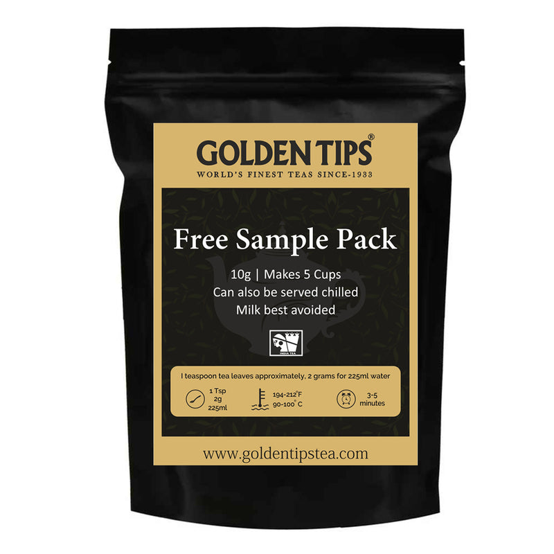 3 Premium Teas Sample Pack - Golden Tips