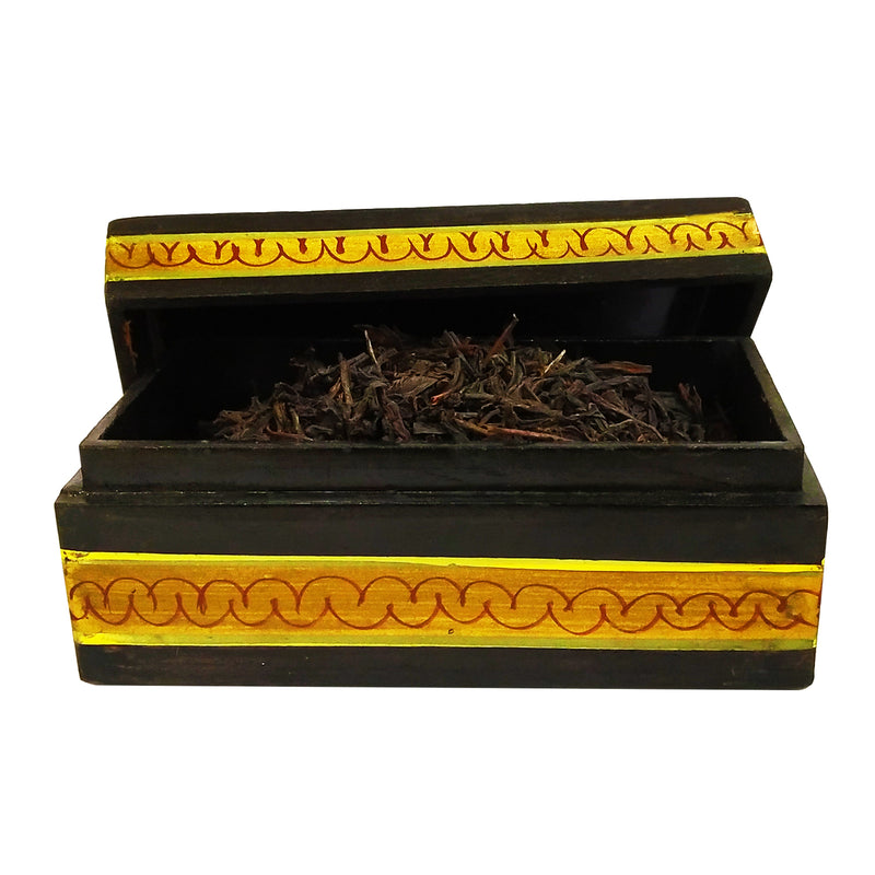 Premium Nilgiri Tea in a Mughal Mystique Miniature Painting Box - Golden Tips